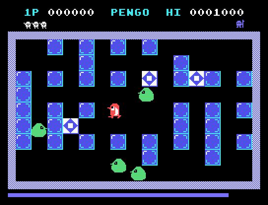 PENGO tribute for TI-99/4A (Extended Basic – BASIC compiler)